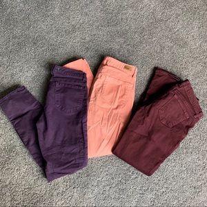 Paige J Brand Skinny Jeans Bundle of 3 Pair